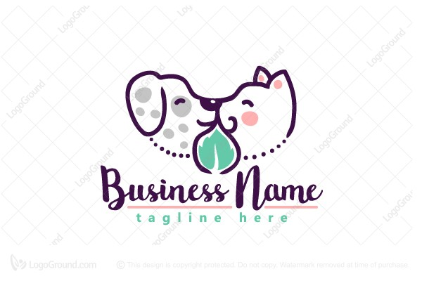 Logo for sale: Cute Pet Logo