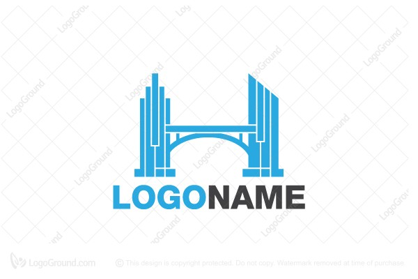 Logo for sale: Estate Bridge Logo