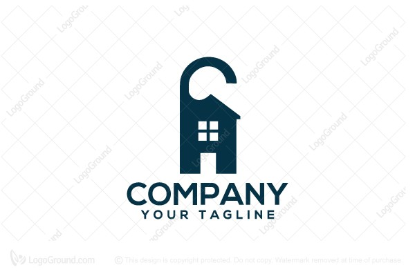 Logo for sale: Rent A House Logo