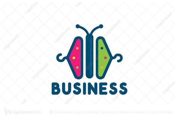 Logo for sale: Butterfly Apparel Logo