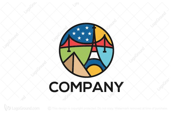 Logo for sale: Smart Travel Logo