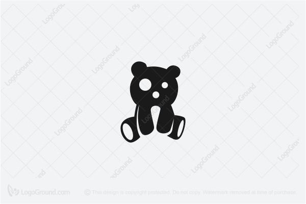 Teddy Bear Toy Logo