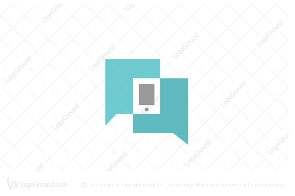 Logo for sale: Talk About Phone Logo