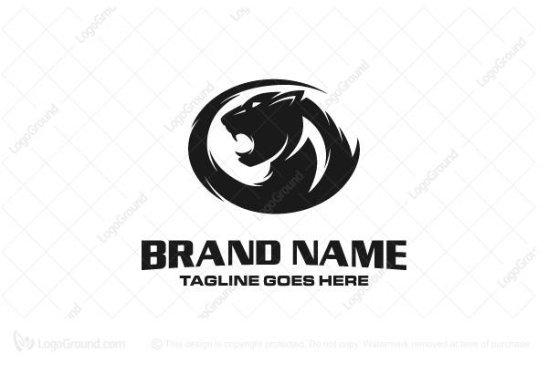 Black Panther Logo Angry Panther