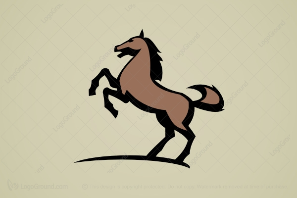 Brown Horse Logos for Sale