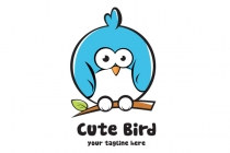 Cute Bird Logo