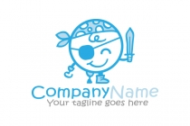 Pirate Kid Logo