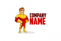 Friendly Superhero Logo