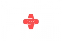 Medical Cross Bandage Logo