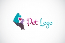 Pet Care Love Logo