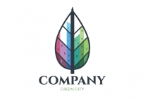 Green City Real Estate Logo
