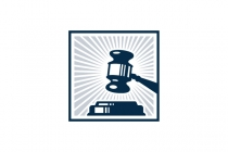 Law Office Gavel Logo