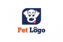 Adorable Dog Pet Logo