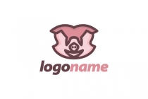 Piggy Hero Logo