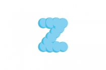 Cloud Letter Z Logo