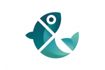 Fish Cut Logo
