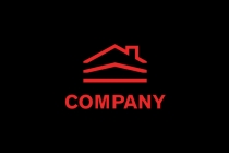 Red Black Construction Logo