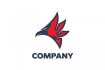 Sharp Beak Eagle Logo
