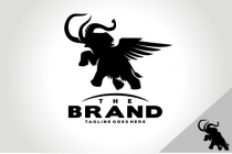 Winged Mammoth Logo