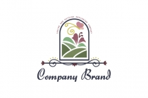 Designing Backyard Landscaping Logo