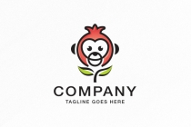 Monkey Pomegranate Logo