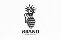 Pineapple Grenade Logo