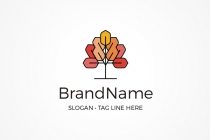 Geometric Tree Logo