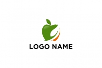 Eco Apple Logo