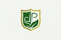 Green DP Shield Logo