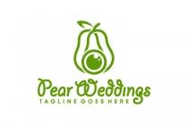 Pear Wedding Logo