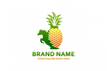 Pineapple Horse Logo