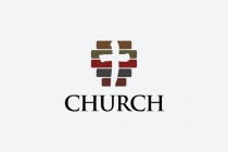 Striped Church Logo