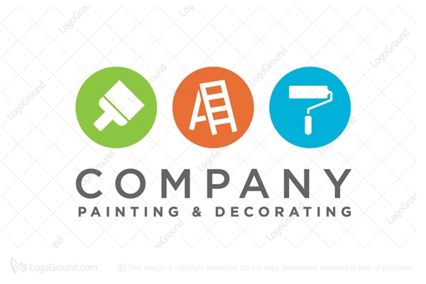 Painter decorator logo for Painting and decorating logo ideas