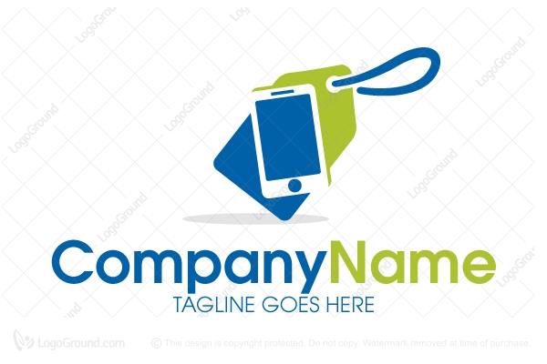 Mobile shop logo for Mobile logo
