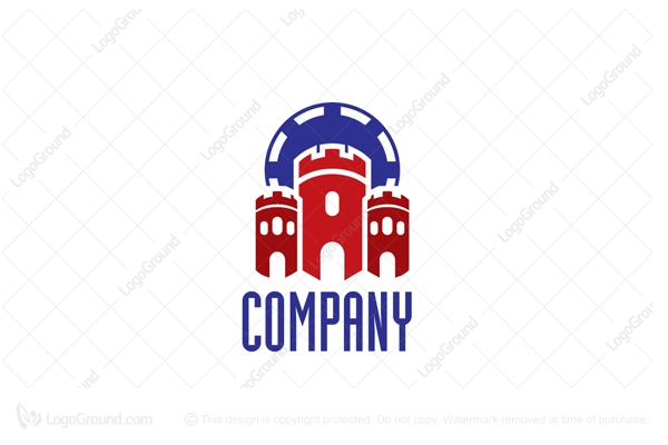 Logo for sale: Castle Bet Logo