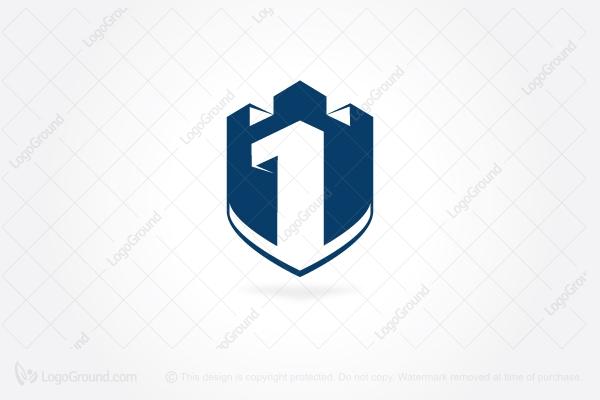 b83b5e4dfab Exclusive Logo 7122, Castle Security Logo
