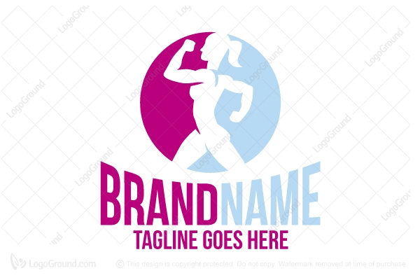 Logo for sale: Fitness Woman Logo