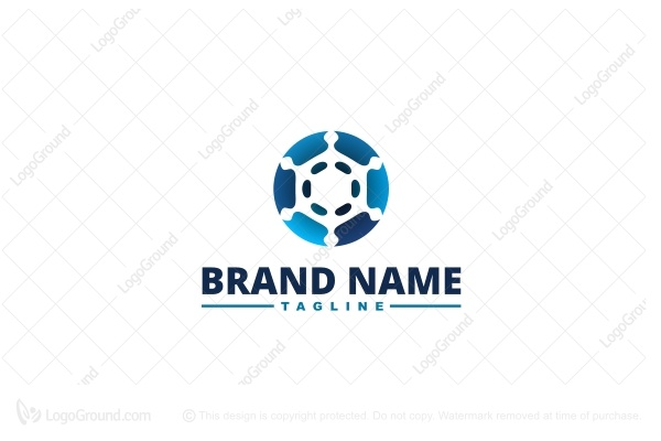 Logo for sale: Snowflake Logo