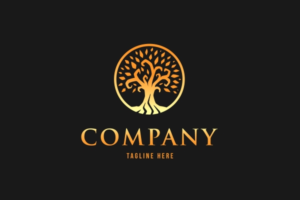 Logo for sale: Golden Tree Logo
