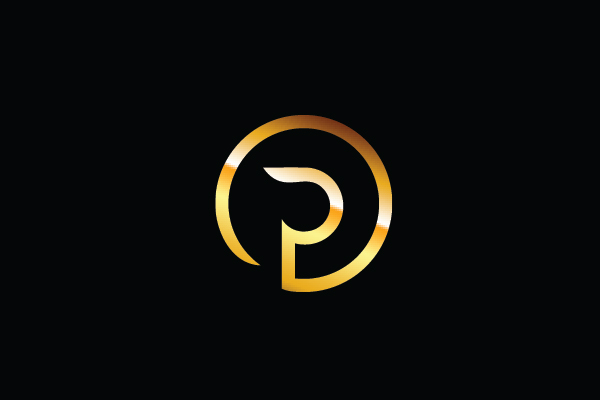 Logo for sale: Golden Logo P Logo