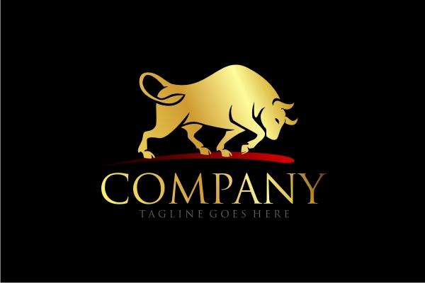 Exclusive Logo 14424 Golden Bull Logo -