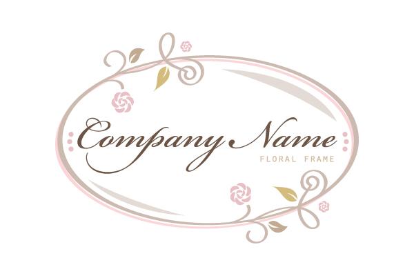 Floral Frame Logo