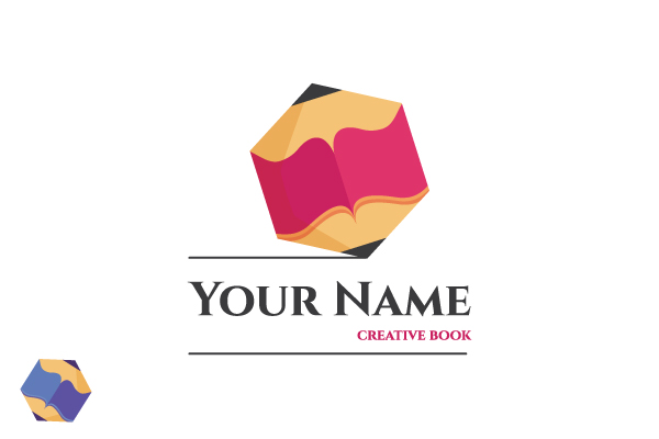 Logo for sale: Creative Book Logo
