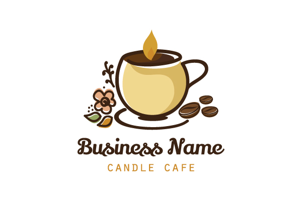 Logo for sale: Candle Cafe Logo
