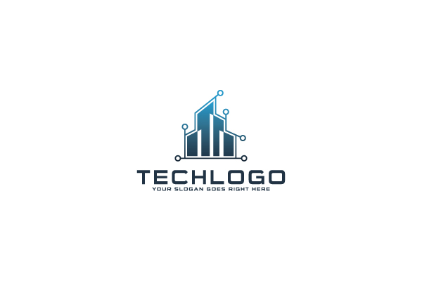 Wired Building Tech Logo