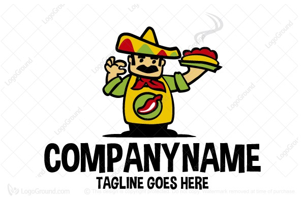 mexican chef logo rh logoground com mexican logo shirts mexican logos for restaurant