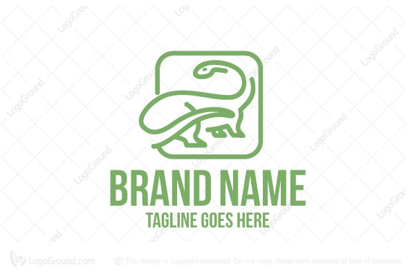 Logo for sale: Dinosaur Company Logo