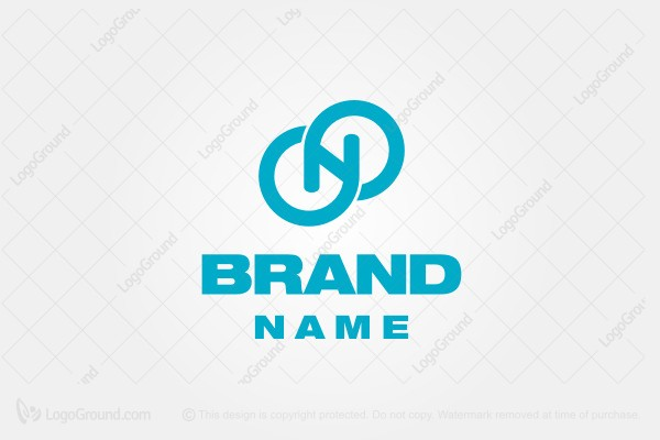Logo for sale: Letter N Cloud Logo