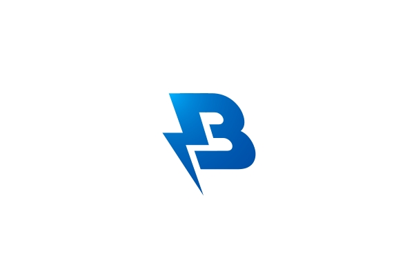 Exclusive Logo 17924, Lightning B Logo