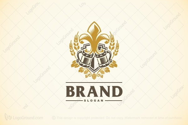 Logo for sale: Medieval Brew Logo